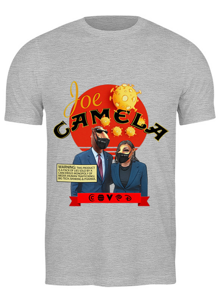 Joe Camela Gray t-shirt
