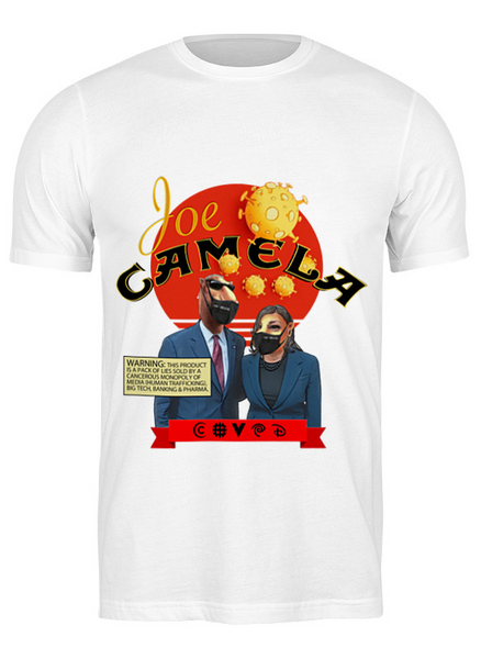 Joe Camela white t-shirt