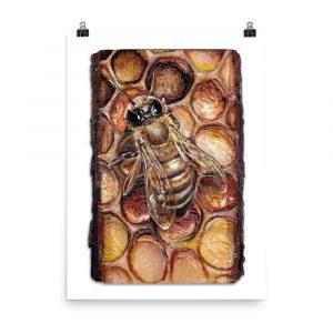 ArtWithAim Animal Series: Honey Bee
